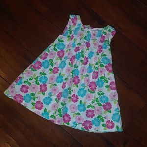 Gymboree girls Summer Cut Out back Dress 6-12mo